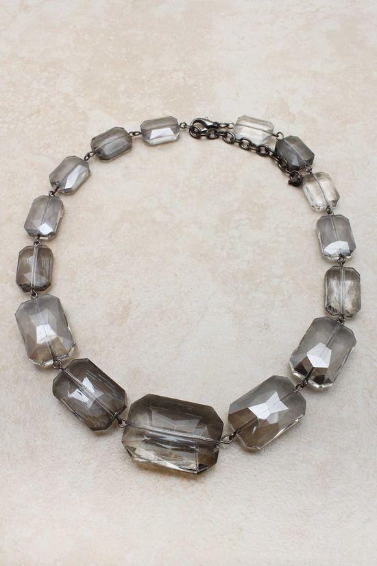 Black Diamond Andrina Statement Necklace :}
