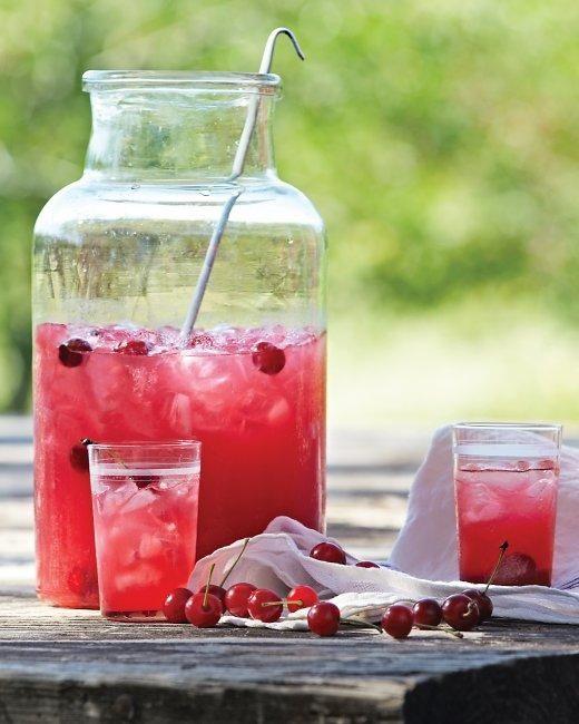Sour Cherry Lemonade #recipe