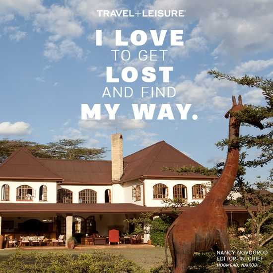 Lose yourself in #travel to discover the world. #Nairobi