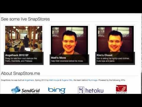 SnapStore.me - Free Craigslist Storefronts