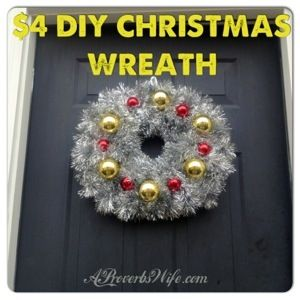 Do-It-Yourself Christmas Wreath