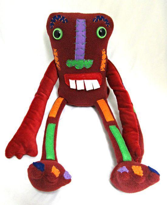 Tiki Monster JIM handmade plushie #smang it #handmade plushies #highlights #handmade tattoo
