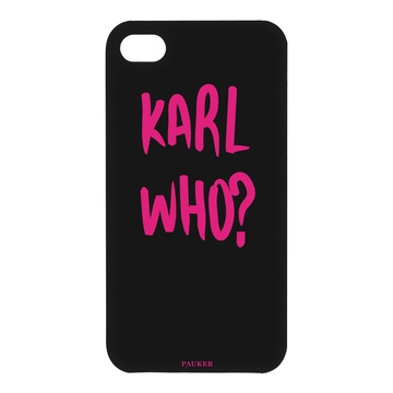 "iPhone Cover ""Karl Who?"""
