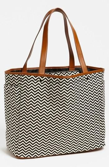 Chevron handbag (it's affordable!)