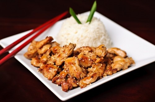 Chicken Teriyaki dinner