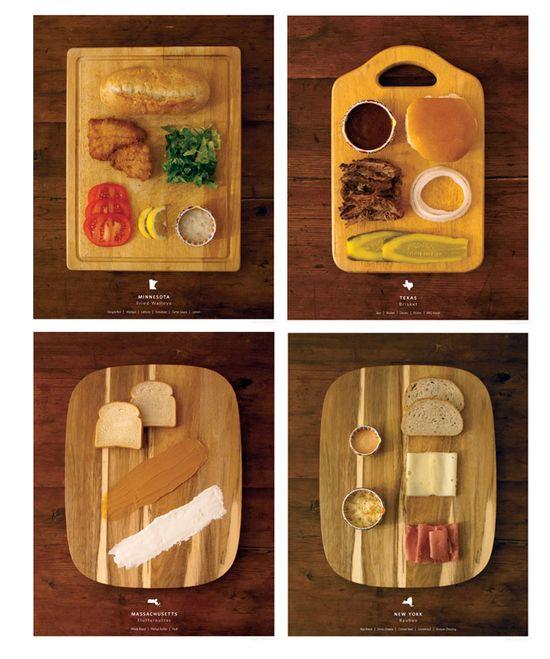 Stately Sandwiches: amazing project by Kelly Pratt!