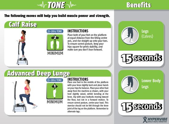 Try these to build muscle power and strength! us.hypervibe.com #health #guide #vibration #fitness