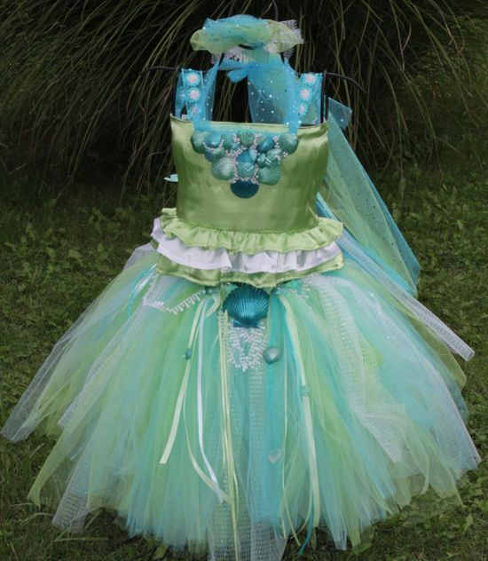 Princess Mermaid Tutu Costume