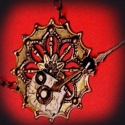 Learn how to make steampunk jewelry>steampunk jewelry with this easy jewelry making tutorial. Steampunk jewelry making supplies can consist of...