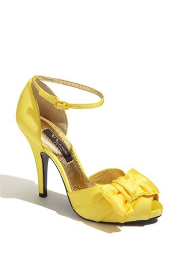 Here's the yellow! Nina 'Electra' Sandal