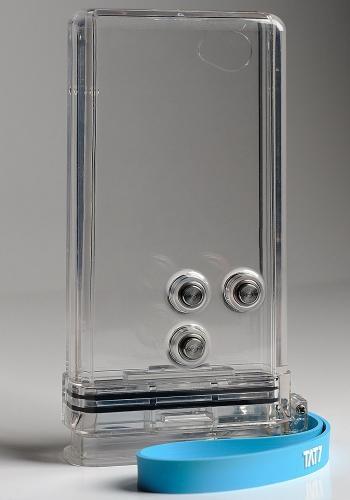 Underwater iphone case.