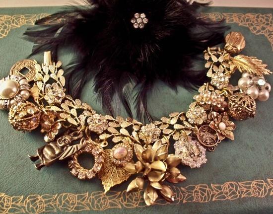 love repurposed jewelry