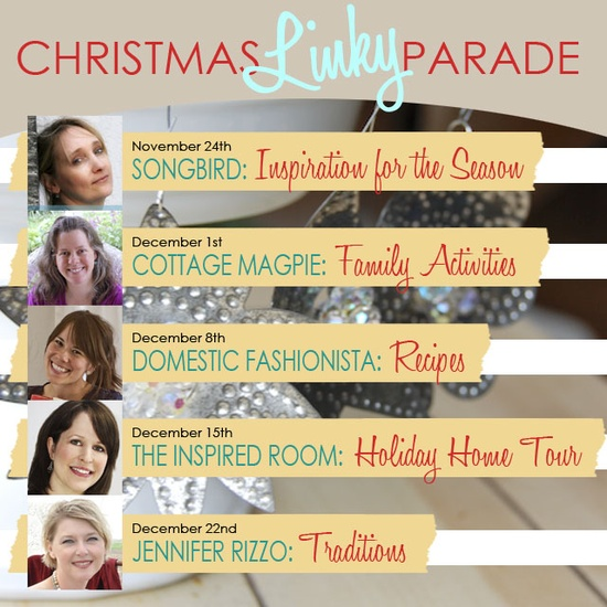 The Christmas Parade Is Coming…come link up every Saturday until Christmas!