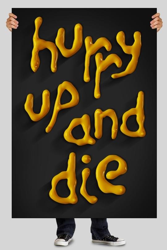 30 Inspiring and Creative HandMade Typography Designs