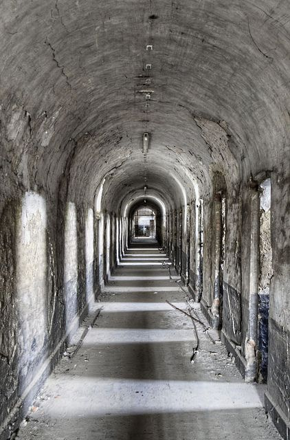 abandoned prison in France