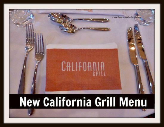 New Disney California Grill Menu!  #Disney #Dining #Food
