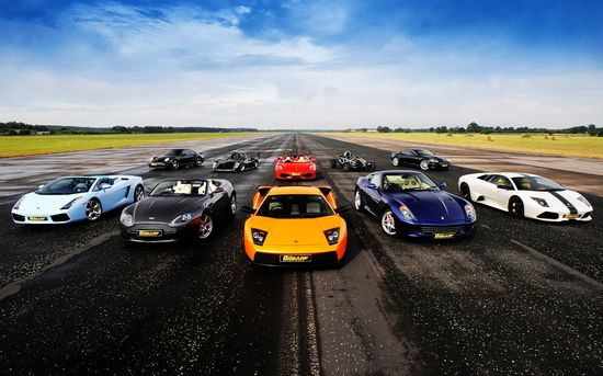 SuperCar Hotspot! Which would you take?