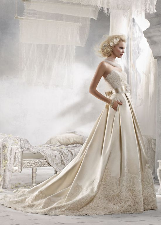 Bridal Gowns, Wedding Dresses by Alvina Valenta - Style AV9215