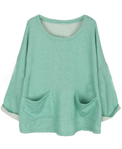 minty + slouchy= something i would want to wear every single day