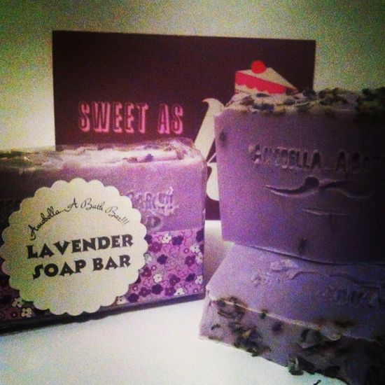 $1.00 from the sale of this Lavender handmade Soap supports breast cancer research.