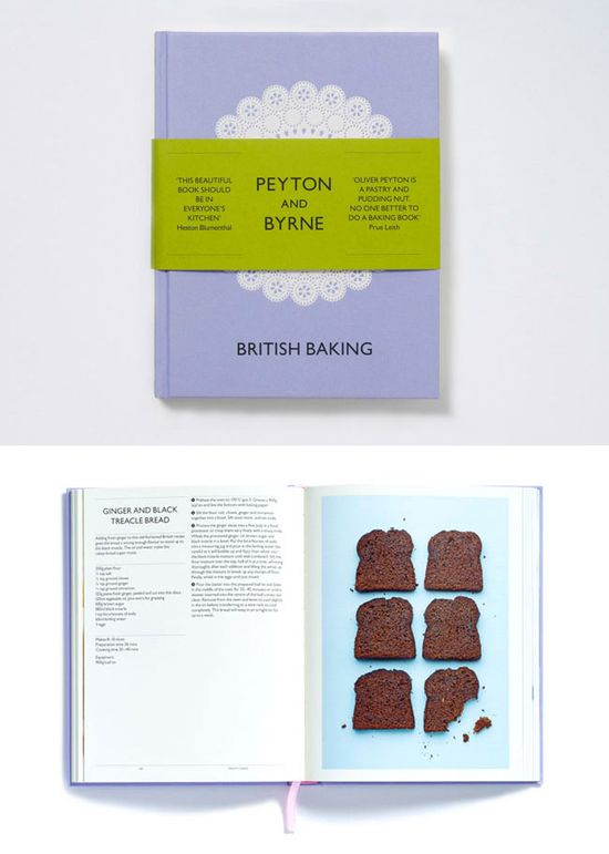 Peyton and Byrne Cookbook (designed by Farrow)
