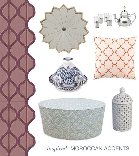 Be inspired by Moroccan accents!