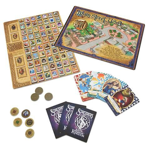 Play the game at home, then bring your cards to Walt Disney World to cast magic spells in the Magic Kingdom theme park attraction Sorcerers of the Magic Kingdom.
