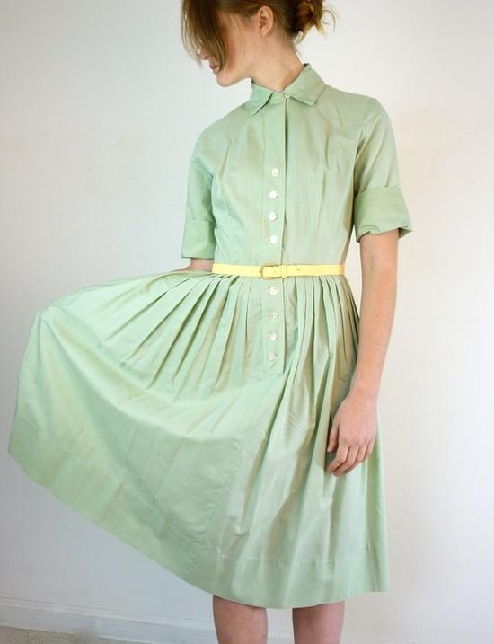 Green. Mint Green.