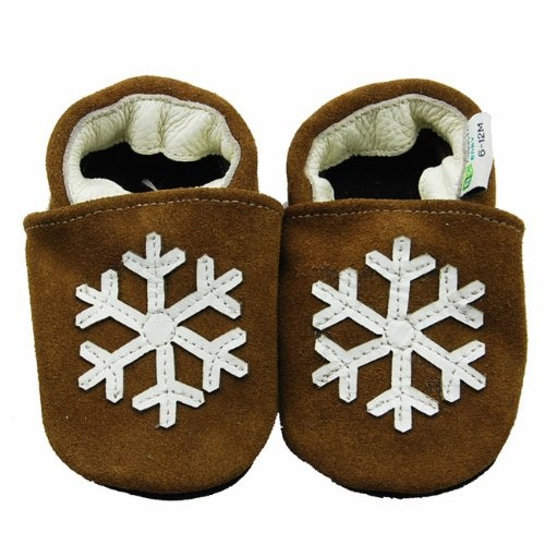 Augusta Baby Snowflake Soft Sole Leather Baby « Clothing Impulse
