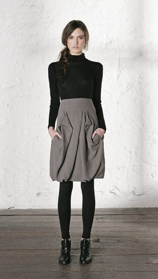 skirt.  with pockets.