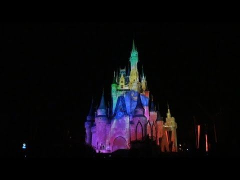 New Celebrate the Magic! Castle Projection Show