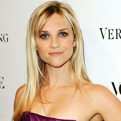 Reese Witherspoon - Love her bangs pushed to the side.