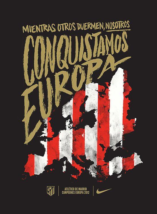 Nike Atletico de Madrid Europa League 2012