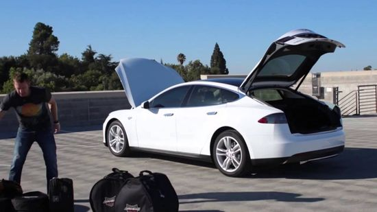 A Musician's Dream Car: Tesla Model S