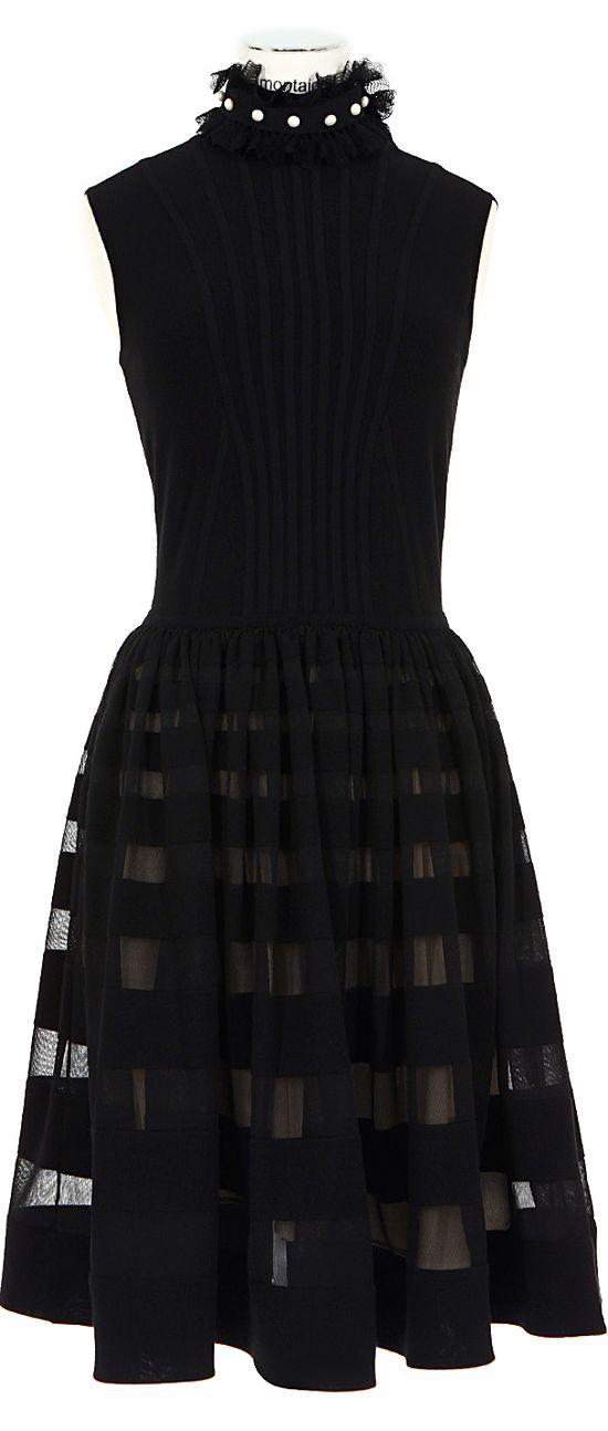 Alexander Mcqueen ? Black Party Dress
