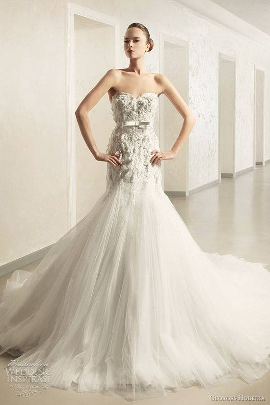 Georges Hobeika 2012 #bridal collection. #wedding #gown #dress