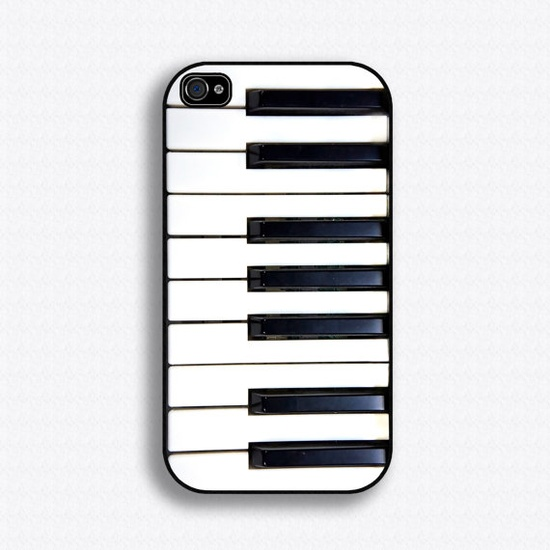 Piano Keys iPhone case for iPhone 4 and 4s