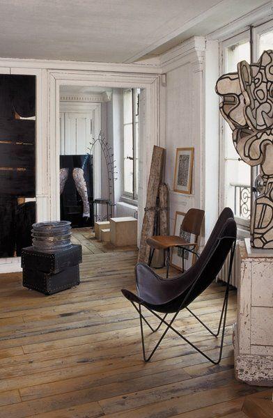 French decorator Frédéric Méchiche's Paris apartment
