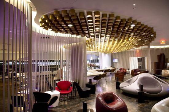 Virgin Atlantic Clubhouse / Slade #hotel interior design #home interior decorators #decoracao de casas #office design