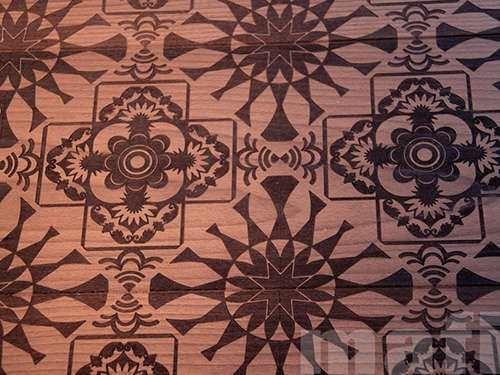 Beautiful Wooden Ethnic Floor Design