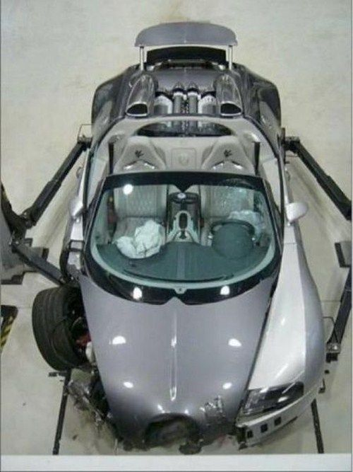 Expensive Sports Cars After Crash