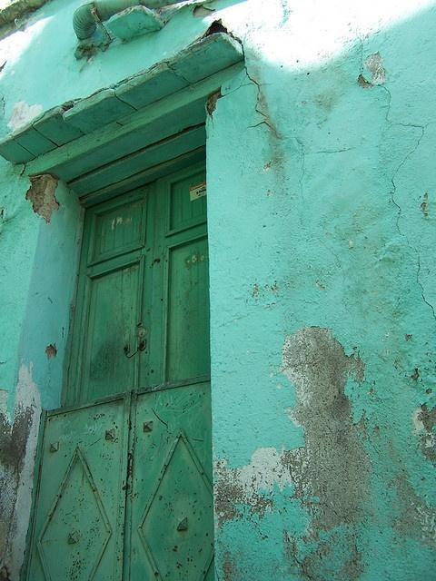 green door - guanajuato mexico