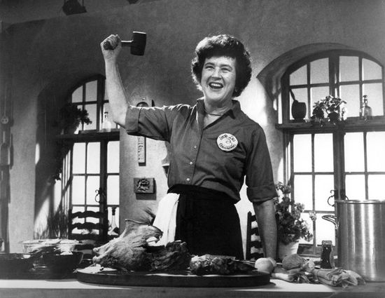 """I just hate health food.""—Julia Child"