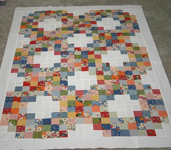 good scrap quilt.........love this