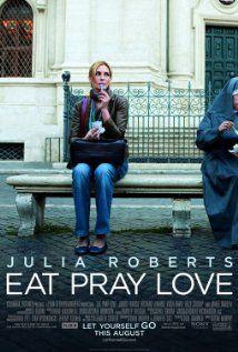 Eat Pray Love (Julia Roberts, Javier Bardem, Richard Jenkins) - 52% - An enjoyable journey of self discovery.