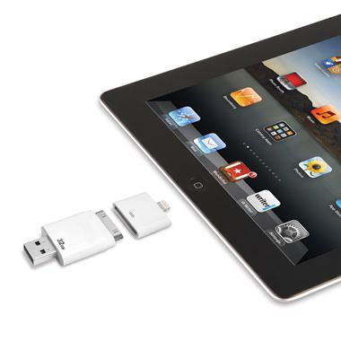 The Only Read And Write iPad Flash Drive (32 GB) - Hammacher Schlemmer