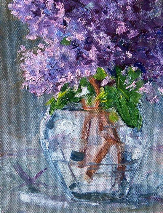 Lilacs, Nancy Merkle