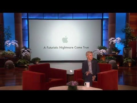 The Newest iPhone 5S Technology - Funny Ellen Parody -