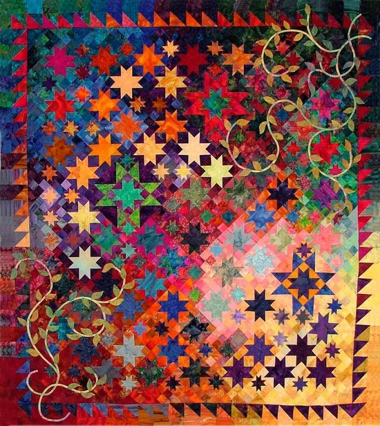 Handmade quilt...unbelievable  ~reevmes