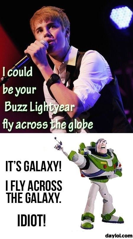 Bieber, you idiot!